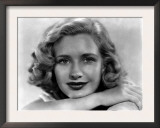 Priscilla Lane, c.1938 Print