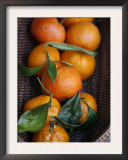 Orange Basket Prints by Nicole Katano