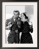 George Burns and Gracie Allen Recording a NBC Radio Show, 1937 Posters