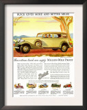 Buick Division of General Motors, Magazine Advertisement, USA, 1930 Prints