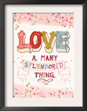 Love is a Many Splendored Thing Art