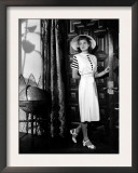 Casablanca, Ingrid Bergman Wearing a Jumper Dress Designed by Orry-Kelly, 1942 Prints