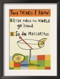 Margarita Love Posters