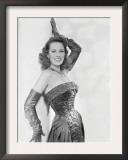 Maureen O'Hara, c.1954 Poster