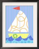 Fun Sailboat Poster