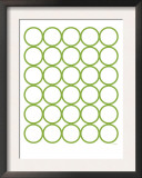Green Circles Posters by  Avalisa