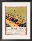 US Royal Cords, Magazine Advertisement, USA, 1924 Posters