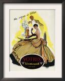 Votrix Vermouth, Magazine Advertisement, UK, 1951 Prints
