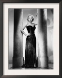 The Killer That Stalked New York, Evelyn Keyes, in a Gown by Jean Louis, 1950 Prints