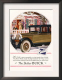 Buick, Magazine Advertisement, USA, 1925 Poster