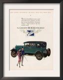 Buick, Magazine Advertisement, USA, 1927 Art