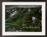Go with the Flow Posters by Nicole Katano