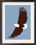 Blue Eagle Prints by  Avalisa