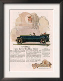 Cadillac, Magazine Advertisement, USA, 1925 Prints