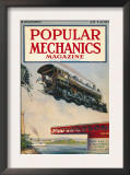 Popular Mechanics, November 1922 Art