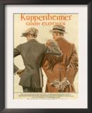 Kuppenheimer, Magazine Advertisement, USA, 1910 Art