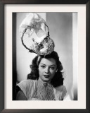 Jane Greer, Modeling an Enterprising Easter Bonnet, 1947 Prints