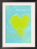 Yellow Heart Posters