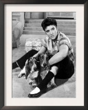 Jailhouse Rock, Elvis Presley, 1957 Print