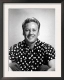 Van Johnson, Wearing a Polka Dot Shirt, Late 1940s Poster