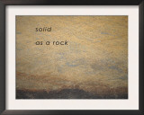 Solid as a Rock Prints by Nicole Katano