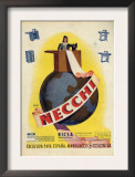Necchi, Magazine Advertisement, Spain, 1942 Print