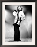 Virginia Mayo Modeling Cocktail Jacket with Mink Trim, 1948 Prints