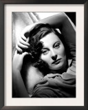 Portrait of Michele Morgan, c.1941 Posters