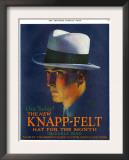 Knapp-Felt, Magazine Advertisement, USA, 1920 Prints