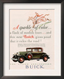 Buick, Magazine Advertisement, USA, 1928 Poster