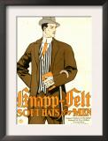 Knapp Felt, Magazine Advertisement, USA, 1910 Posters
