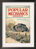 Popular Mechanics, June 1918 Posters