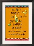 Best Things in Life Margarita Art