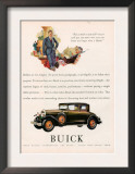 Buick, Magazine Advertisement, USA, 1929 Posters