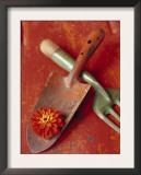 Trowel and Blossom Print