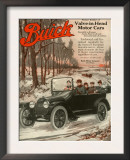 Buick Division of General Motors, Magazine Advertisement, USA, 1910 Posters
