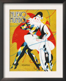Nuevo Mundo, Magazine Cover, Spain, 1927 Art