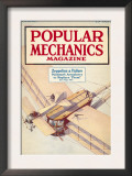 Popular Mechanics, October 1916 Posters