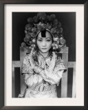 Anna May Wong, 1905-1961, Chinese-American Actress Who Persevered Against Discrimination, 1937 Poster by Carl Van Vechten