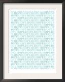 Aqua Hope Prints by  Avalisa