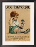 Good Housekeeping, March 1927 Poster