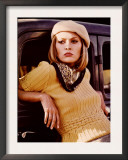 Bonnie and Clyde, Faye Dunaway, 1967 Poster