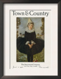 Town & Country, June 1st, 1918 Print
