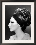 Portrait of Barbra Streisand Posters