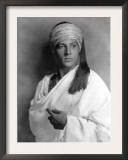 Portrait of Sheik, Rudolph Valentino, 1921 Prints