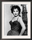 Gina Lollobrigida, c.1956 Print