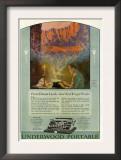 Underwood, Magazine Advertisement, USA, 1920 Posters