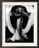 Desire, Marlene Dietrich, 1936, Formal Evening Gown Designed by Travis Banton Poster