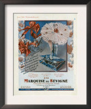 Marquise de Sevigne, Magazine Advertisement, France, 1929 Art