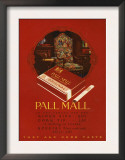 Pall Mall, Magazine Advertisement, UK, 1920 Prints